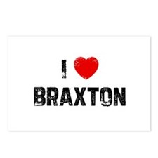 I * Braxton Postcards (Package of 8)