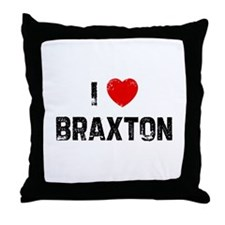 I * Braxton Throw Pillow