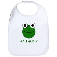 Anthony Frog Face Bib