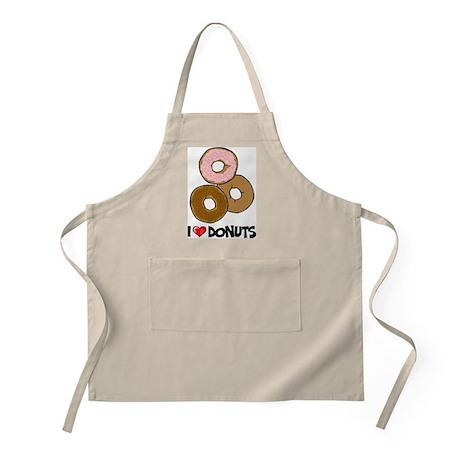 I Love Donuts BBQ Apron