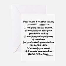 Song to grandmas Greeting Cards (Pk of 10)