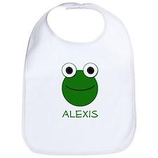Alexis Frog Face Bib
