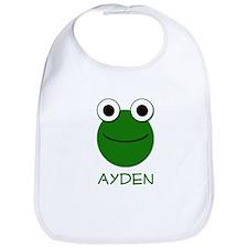 Ayden Frog Face Bib