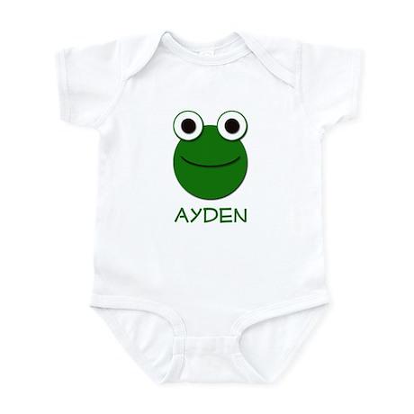 Ayden Frog Face Infant Bodysuit