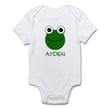 Ayden Frog Face Infant Bodysuit