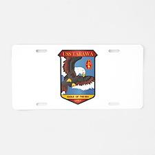 USS Tarawa (LHA-1) Aluminum License Plate