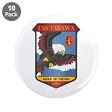 "USS Tarawa (LHA-1) 3.5"" Button (10 pack)"