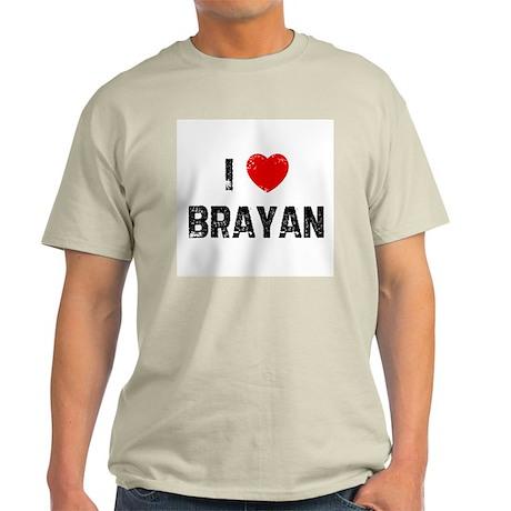 I * Brayan Light T-Shirt