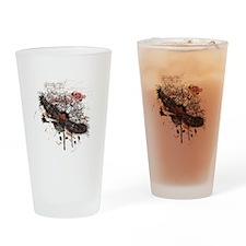 Vintage Flying Eagle Drinking Glass