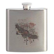 Vintage Flying Eagle Flask