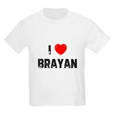 I * Brayan Kids T-Shirt