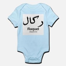 Raquel Arabic Calligraphy Infant Bodysuit