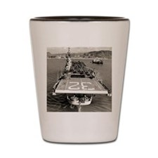 leyte cva framed panel print Shot Glass