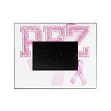 PEZ initials, Pink Ribbon, Picture Frame