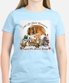 Humane Society Animal Support T-Shirt