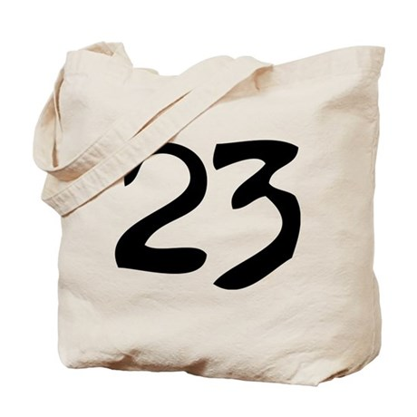 The Number 23 Tote Bag