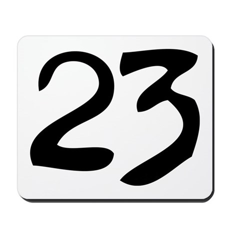 The Number 23 Mousepad
