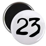 The Number 23 Magnet