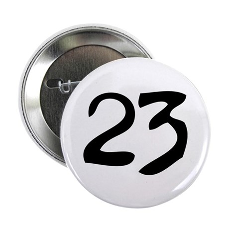 "The Number 23 2.25"" Button (100 pack)"