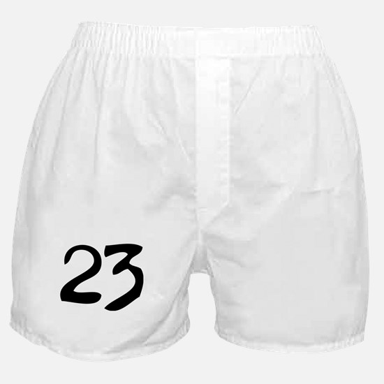 The Number 23 Boxer Shorts
