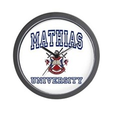 MATHIAS University Wall Clock