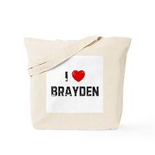 I * Brayden Tote Bag