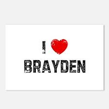 I * Brayden Postcards (Package of 8)