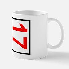 17 Autocross Number Plates Mug