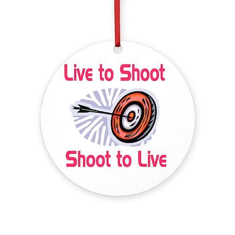 ArcheryChick LTS Ornament (Round)