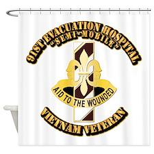 Army - 91st Evacuation Hospital Shower Curtain