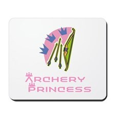 ArcheryChick Princess Mousepad