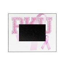 PKU initials, Pink Ribbon, Picture Frame