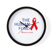 The Human Fund Wall Clock