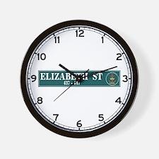 Elizabeth St., Sydney (AU) Wall Clock
