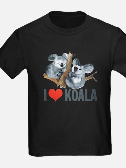 Koala Shirt - I Heart Koala T-Shirt T-Shirt