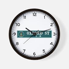 Oxford St., Sydney (AU) Wall Clock