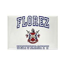 FLOREZ University Rectangle Magnet