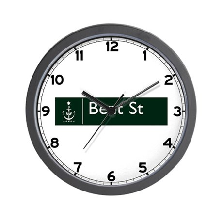 Bent St., Sydney (AU) Wall Clock
