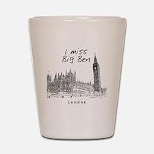 London_10x10_ImissBigBen_Black Shot Glass
