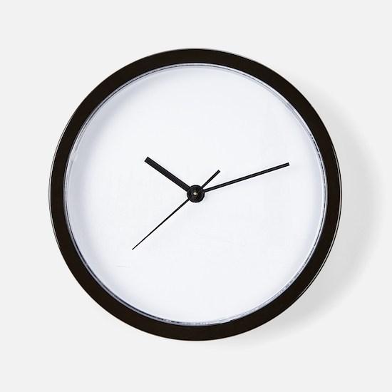 London_12x12_ImissBigBen_White Wall Clock