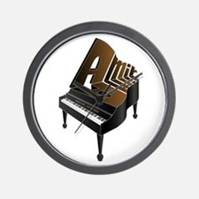 Amir grand piano Wall Clock