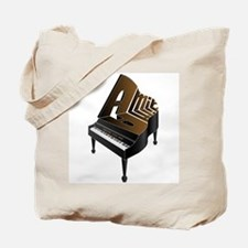 Amir grand piano Tote Bag