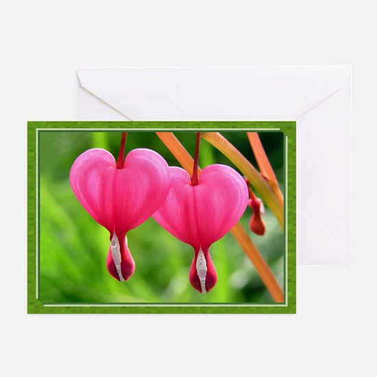 ...Dicentra 01... Note Card (Pk of 10)