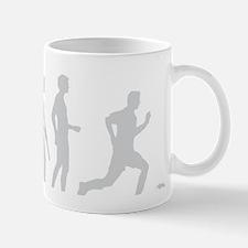 Evolution Fussball weiss Mug