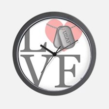 USAF Love Wall Clock