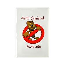 Anti-Squirrel Advocate Rectangle Magnet