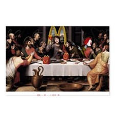 LAST MCSUPPER Postcards (Package of 8)