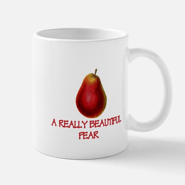 A Really Beautiful Pear Mugs