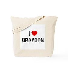 I * Braydon Tote Bag
