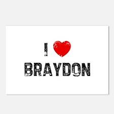 I * Braydon Postcards (Package of 8)